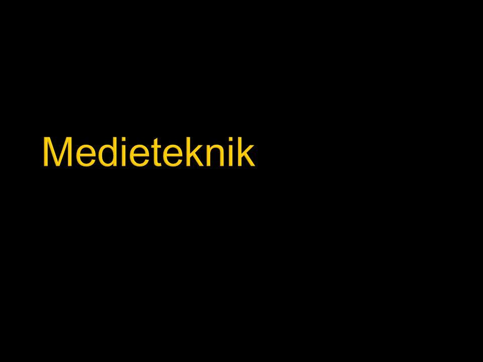  Historik  Journalistik och multimedia, JMM  Eget ämne  Egen institution tillsammans med Turism i Haninge  Flytt till Flemingsberg  Medieteknik är ett tvärvetenskapligt ämne  Teori varvas med praktik  Medieteknik är ett högskoleämne, inte en yrkesutbildning  Inga förkunskapskrav vad gäller datorvana