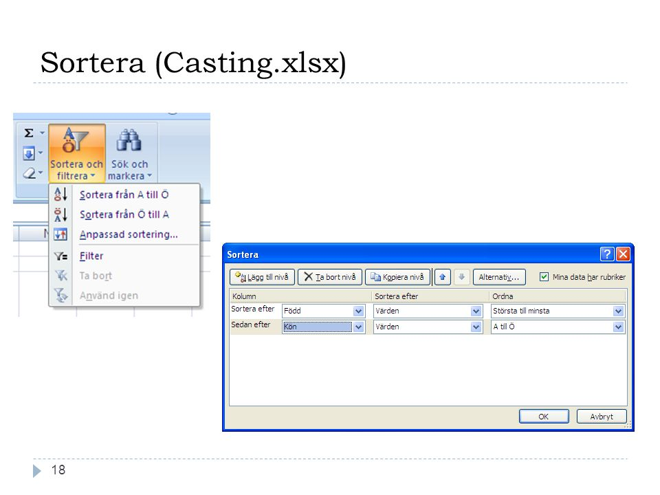 Sortera (Casting.xlsx) 18