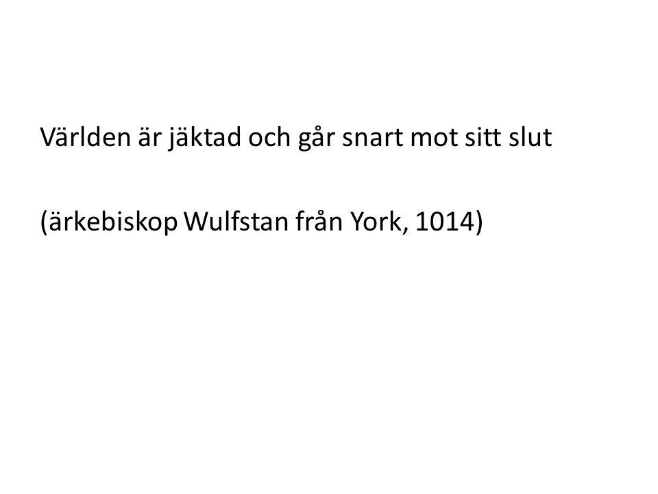 (ärkebiskop Wulfstan från York, 1014)