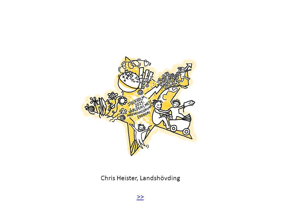 Chris Heister, Landshövding >>