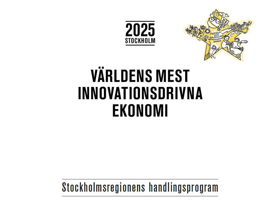 Insatser Uppdraget till Stockholm Business Region Introducing the best system i the world Förbättra värdering av internationell kompetens Toppuniversitet och forskningsintensiva företag till Stockholmsregionen Socialt mentorssystem Internationella PR-kampanjer