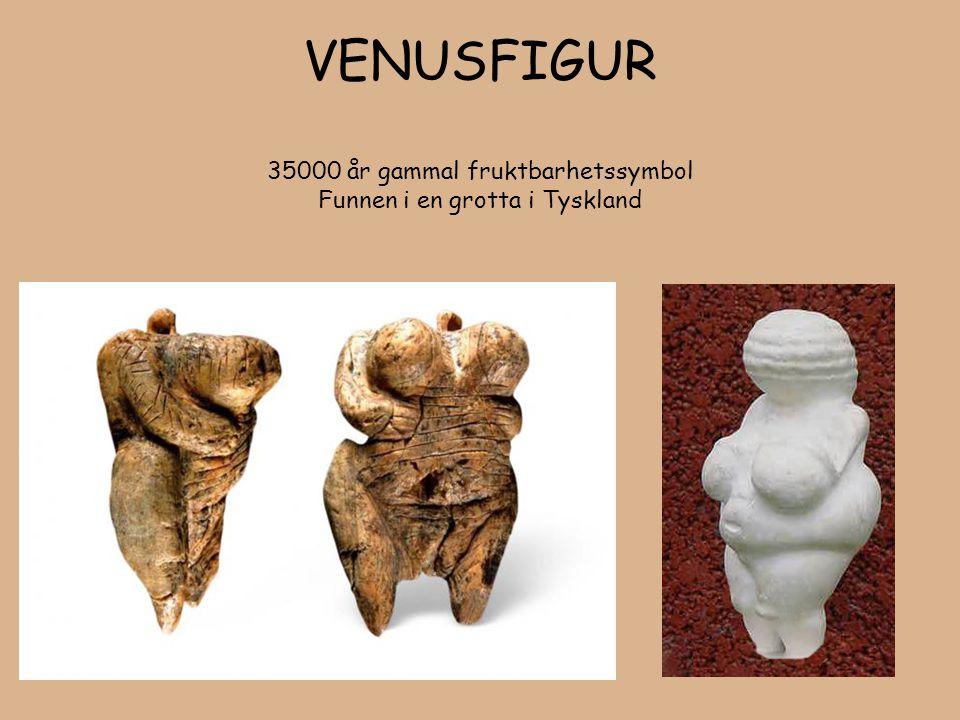 VENUSFIGUR 35000 år gammal fruktbarhetssymbol Funnen i en grotta i Tyskland