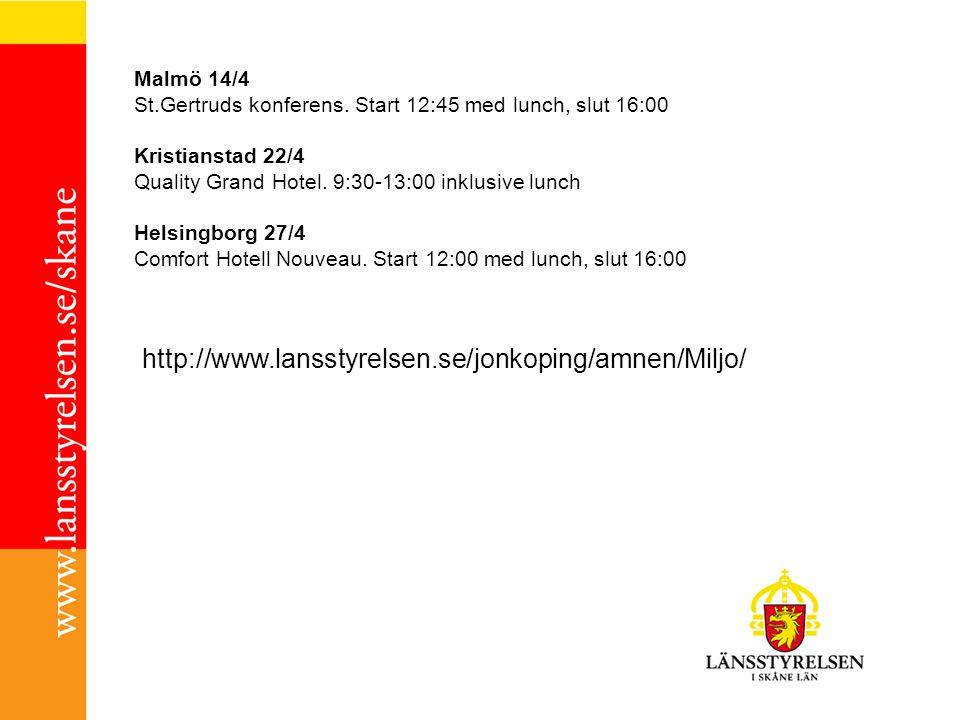 Malmö 14/4 St.Gertruds konferens.