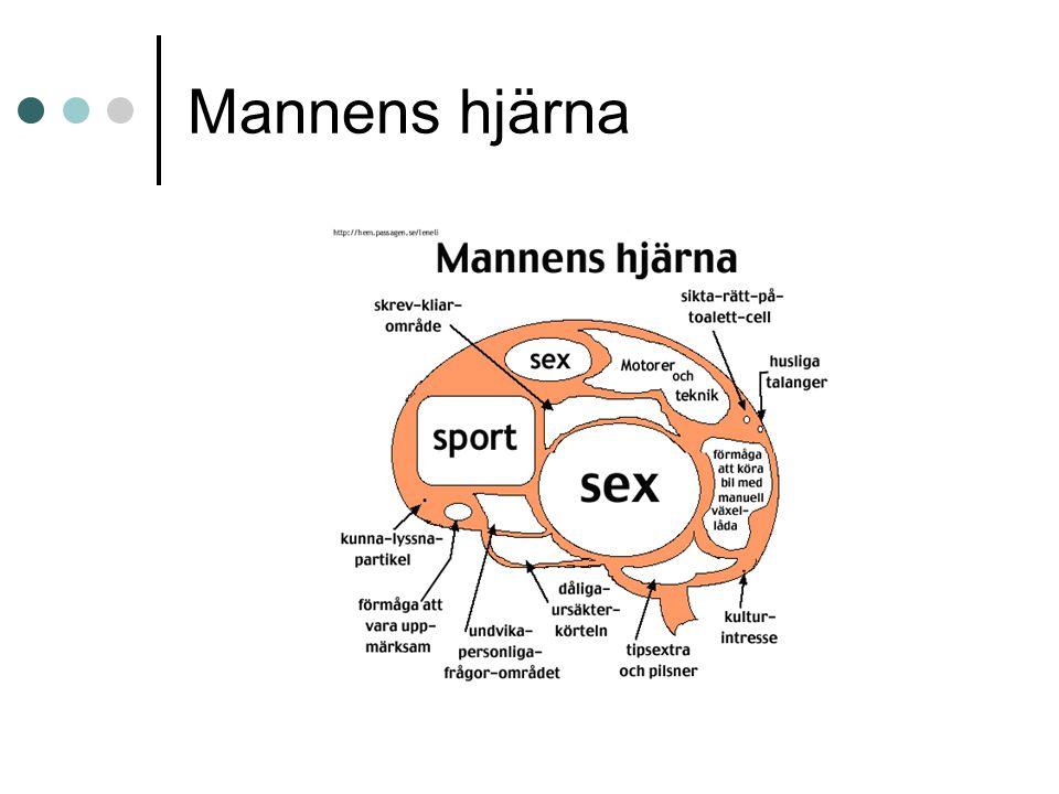 Mannens hjärna