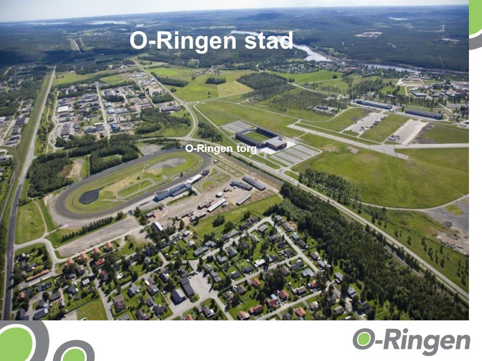 O-Ringen stad O-Ringen torg