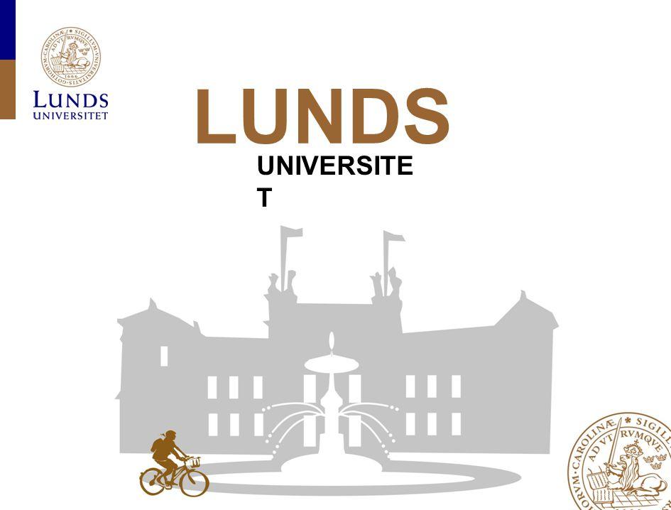 FRONESIS-projektet, univ. ledningens prefektmöte den 16 november 2010 LUNDS UNIVERSITE T
