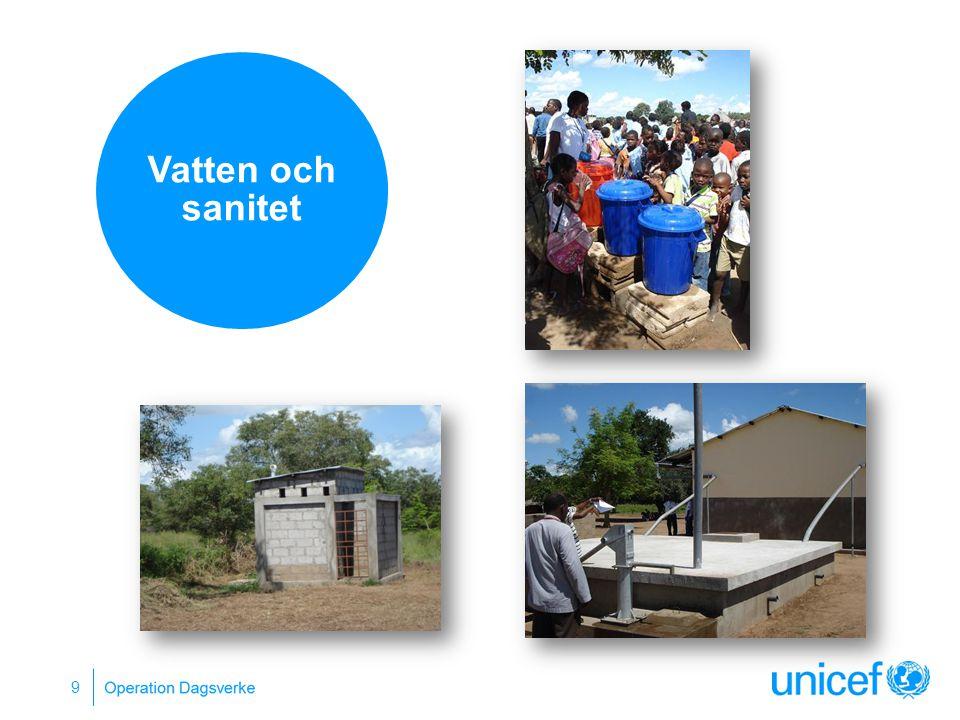 9 Vatten och sanitet