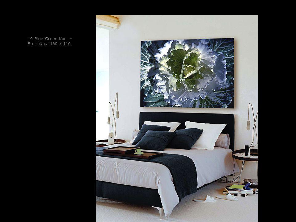 19 Blue Green Kool – Storlek ca 160 x 110