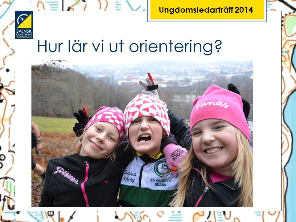 Hur lär vi ut orientering? Ungdomsledarträff 2014