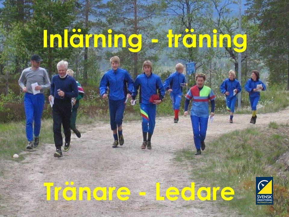 Svenska Orienteringsförbundets Tränarakademi Inlärning - träning Tränare - Ledare
