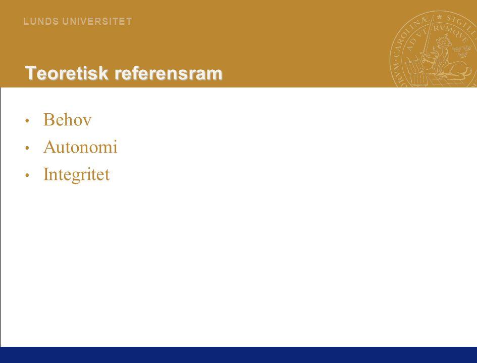 50 L U N D S U N I V E R S I T E T Föräldrars deltagande i beslut under sjukhusvistelse (Hallström, Runeson & Elander, 2002, Hallström & Elander, 2004, 2005)