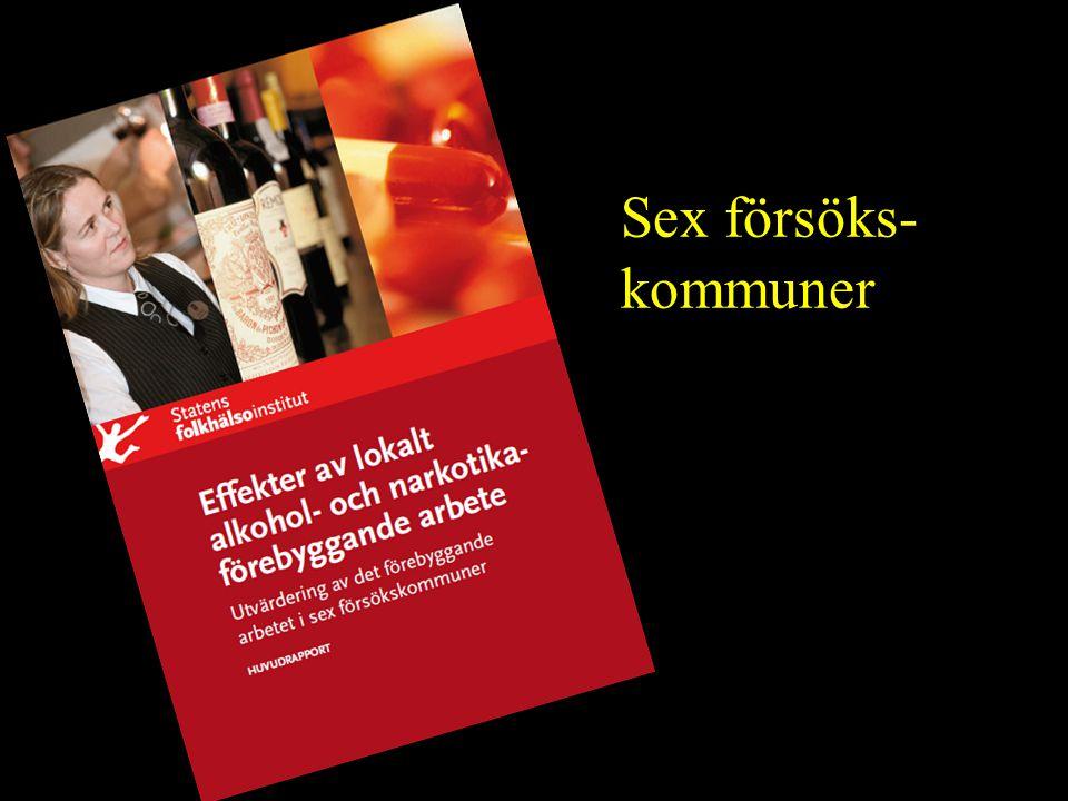 21/08/2014 Sex försöks- kommuner