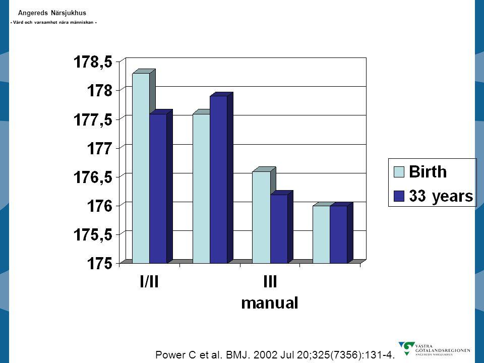 Angereds Närsjukhus - Vård och varsamhet nära människan - Power C et al.