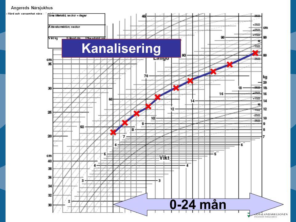 Angereds Närsjukhus - Vård och varsamhet nära människan - Kanalisering 0-24 mån