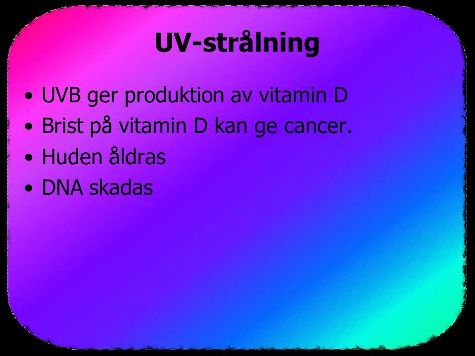 UV och cancer