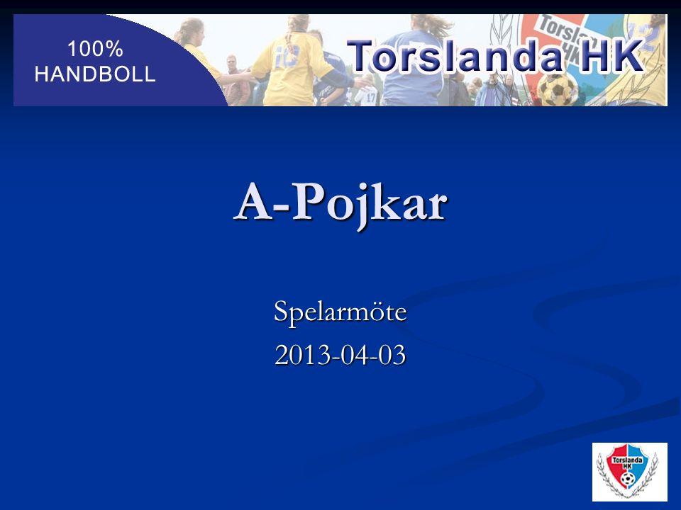 A-Pojkar Spelarmöte2013-04-03