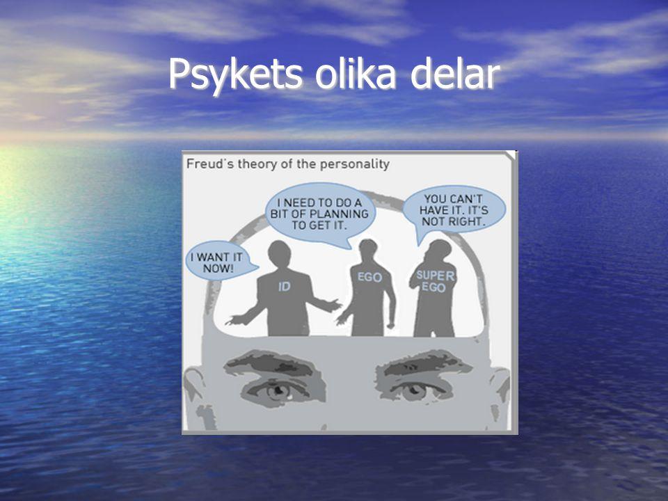 Psykets olika delar