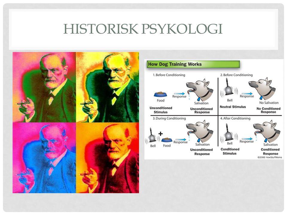 HISTORISK PSYKOLOGI