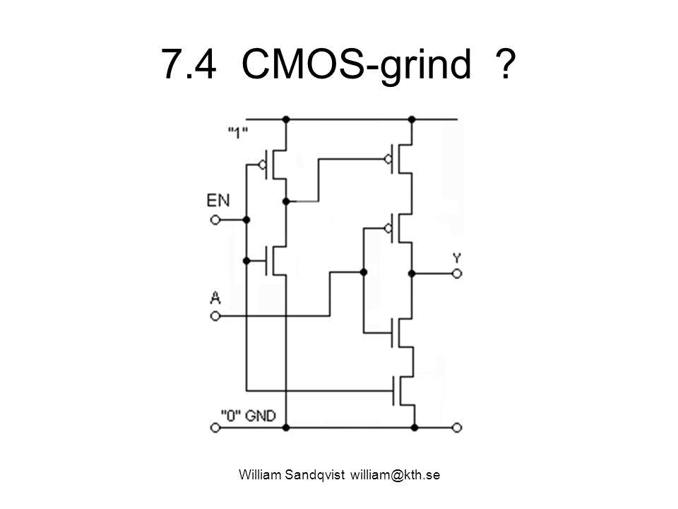 7.4 CMOS-grind ? William Sandqvist william@kth.se