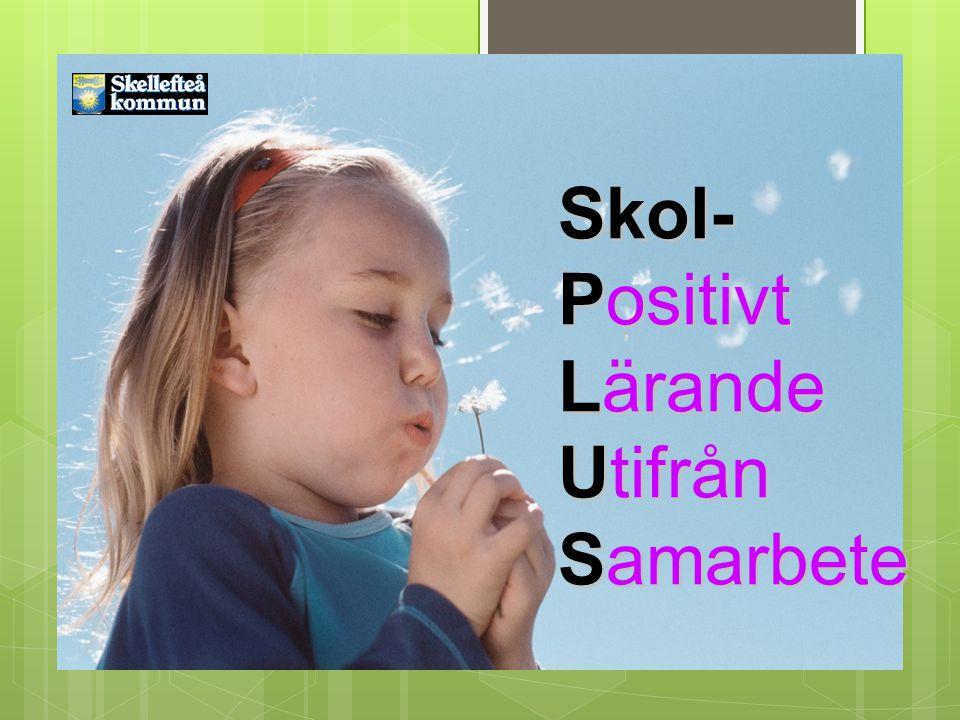 SkolPlus 2010- 2012 Skol- Positivt Lärande Utifrån Samarbete