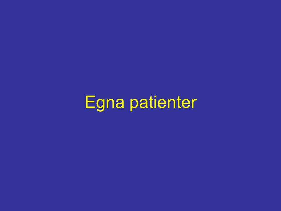 Egna patienter