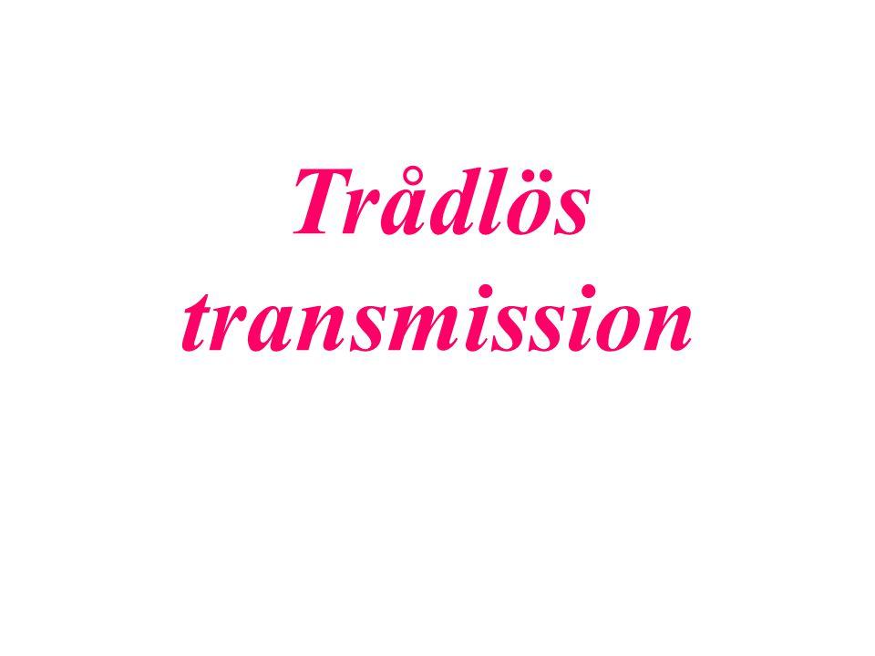 Trådlös transmission