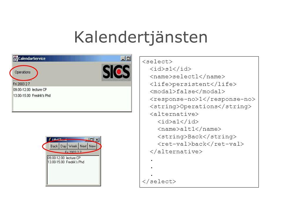 Kalendertjänsten s1 select1 persistent false 1 Operations a1 alt1 Back back.
