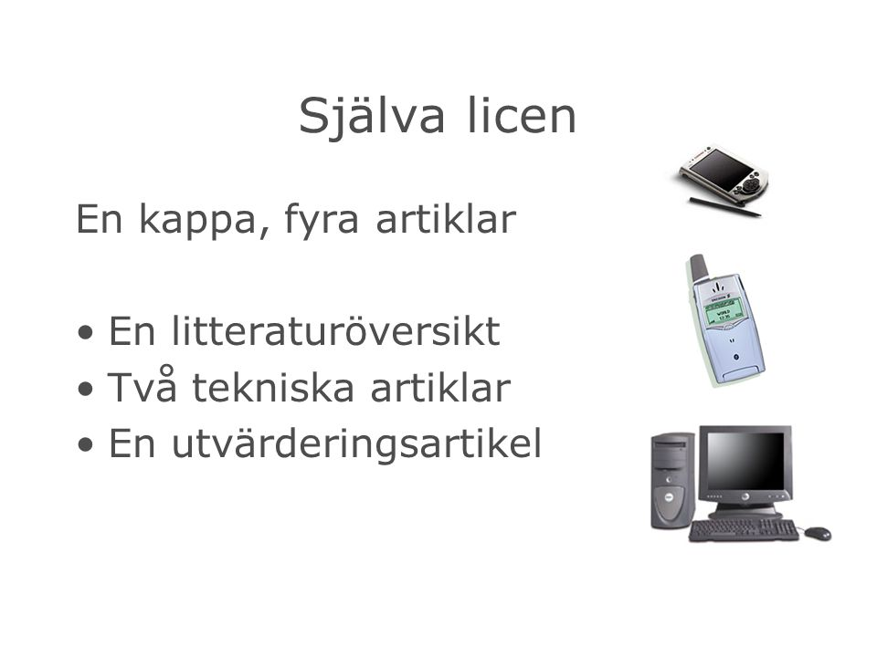 Publicerade artiklar The Ubiquitous Interactor – Device Independent Access to Mobile Services, Computer-Aided Design of User Interfaces 2004.