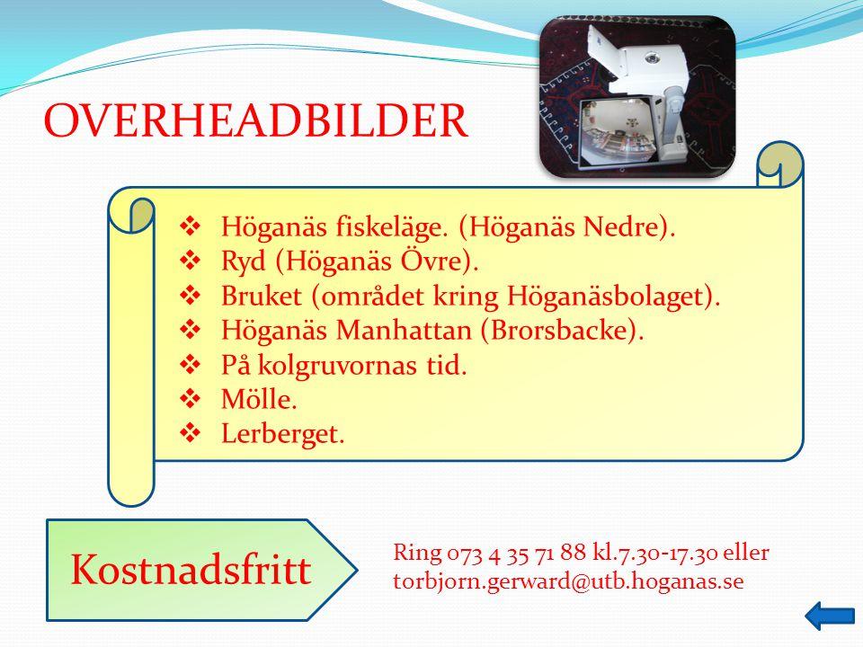 Ring 073 4 35 71 88 kl.7.30-17.30 eller torbjorn.gerward@utb.hoganas.se BILDSPEL  Byvandring i Lerberget.
