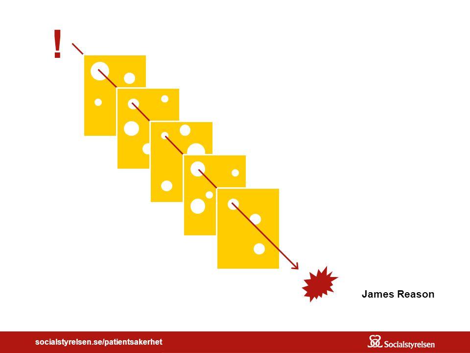 socialstyrelsen.se/patientsakerhet James Reason !