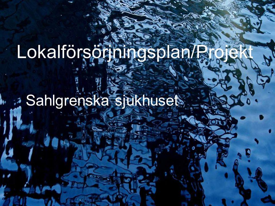 2009.05.13/L.Ring Lokalförsörjningsplan/Projekt Sahlgrenska sjukhuset