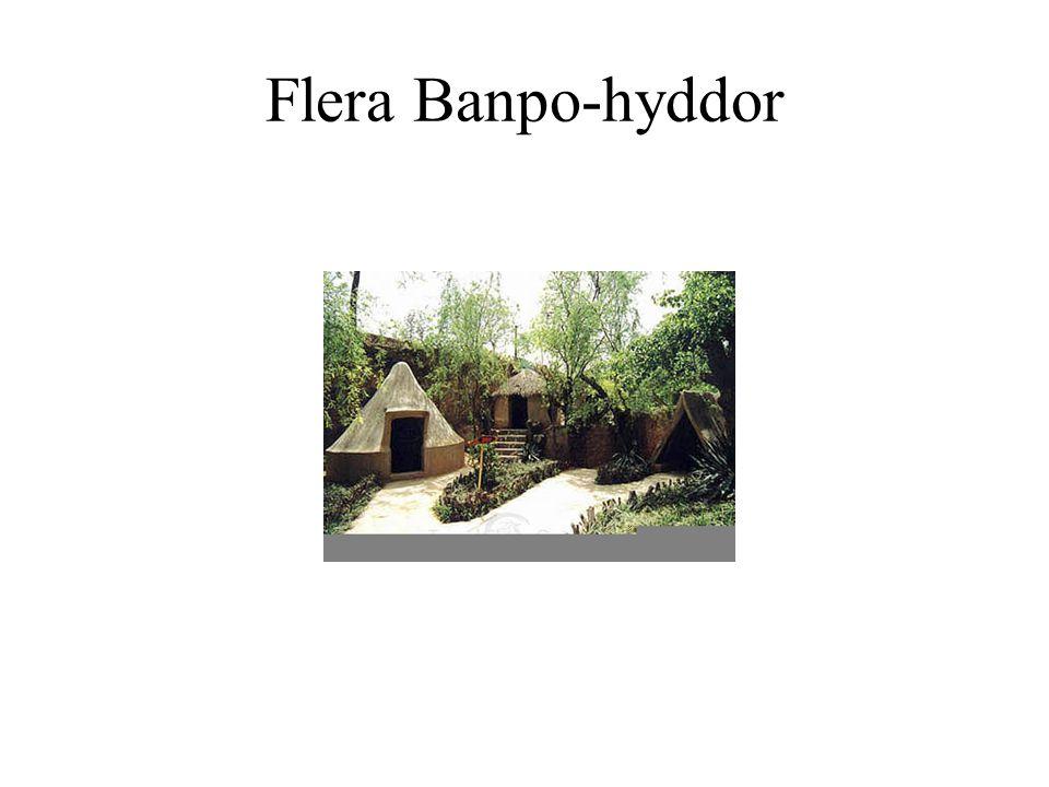 Flera Banpo-hyddor