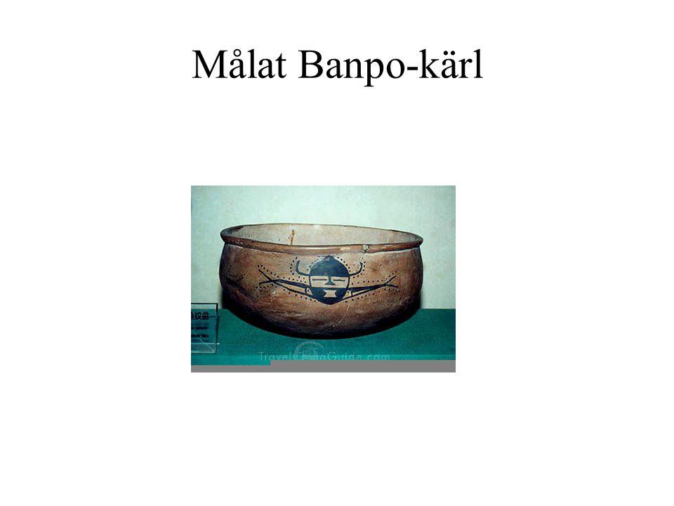 Målat Banpo-kärl