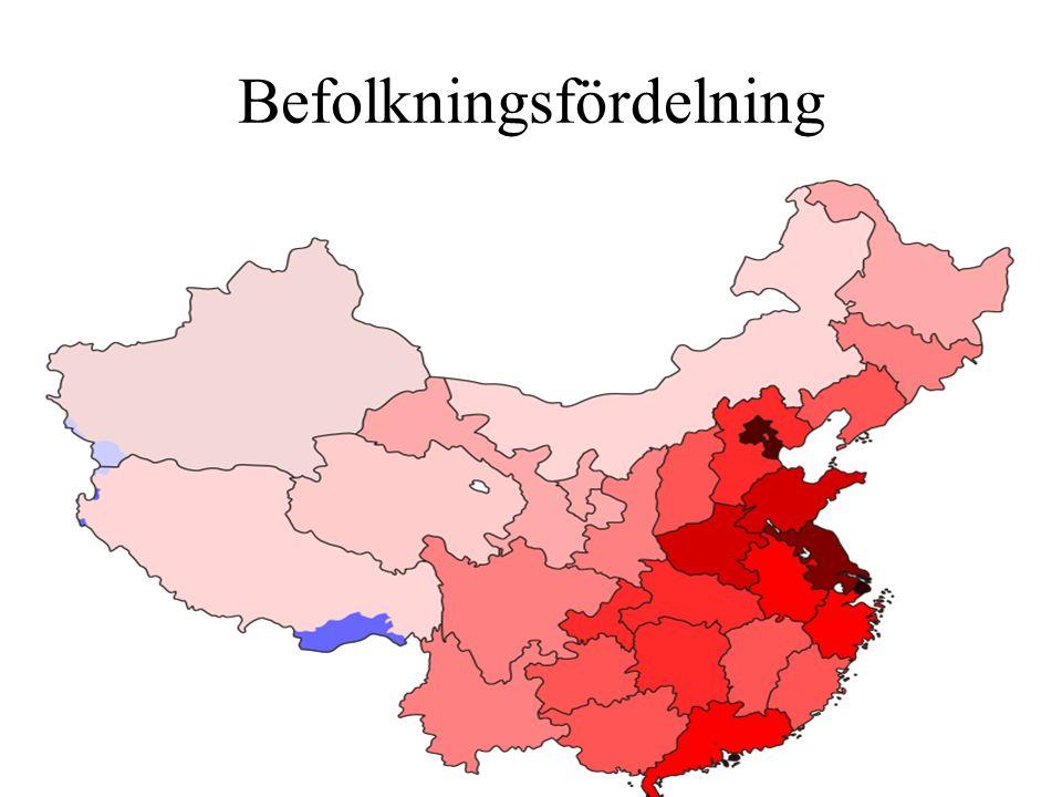 Befolkningsfördelning