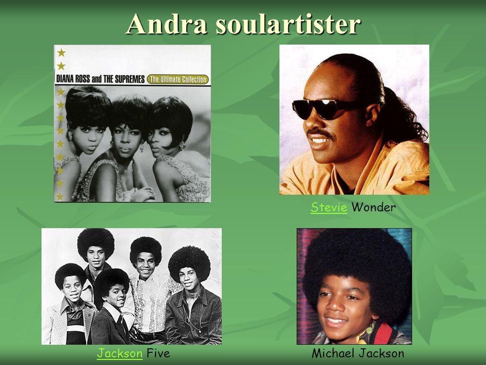 Andra soulartister StevieStevie Wonder Michael JacksonJacksonJackson Five