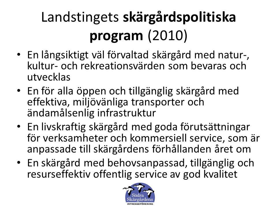 SSIF uppfattning är att som ett första steg för att uppnå Landstinget mål måste kommunikationerna i nord-sydlig riktning lösas.