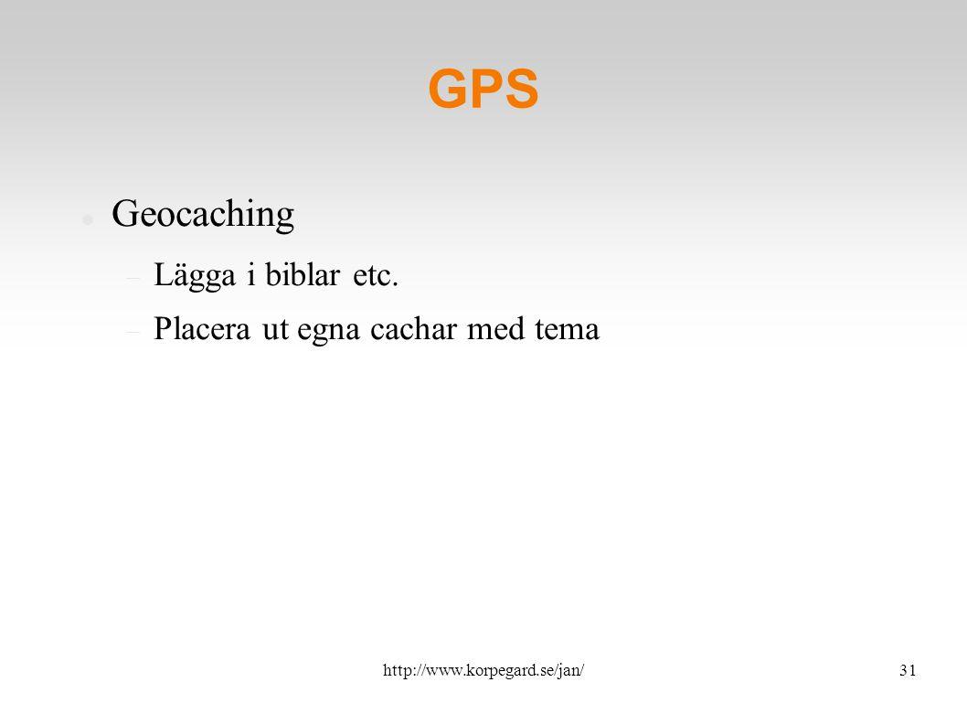 http://www.korpegard.se/jan/32 Uppdateringsfrekvens Varje timme – Twitter Varje dag – facebook Varje vecka – blog Varje månad – pdf