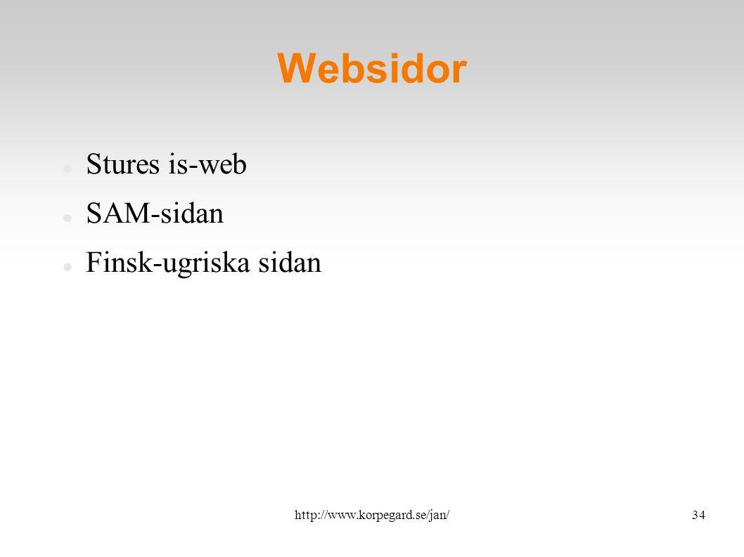 http://www.korpegard.se/jan/35 Övning Introducera, syfte Uppgift Tid