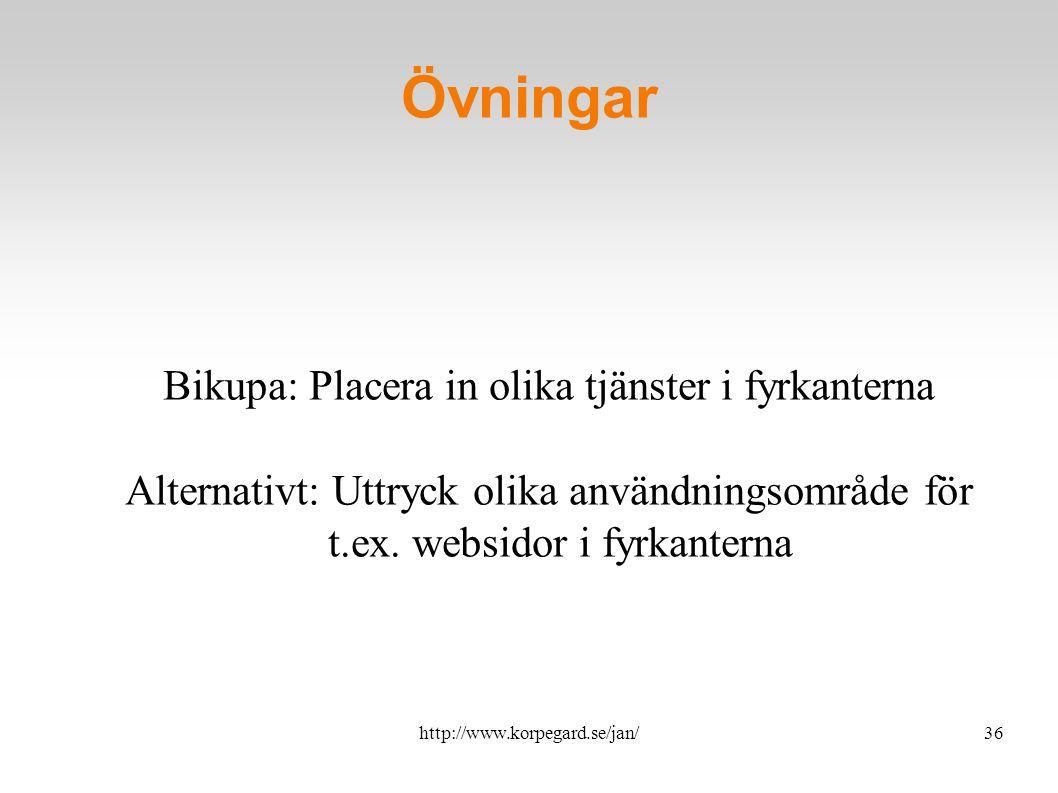 http://www.korpegard.se/jan/37 Målgrupp och budskap.