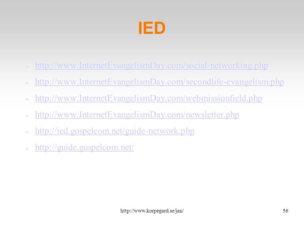 http://www.korpegard.se/jan/57 ICCM http://groups.yahoo.com/group/iccm/ http://www.iccm.org/ http://www.iccm-europe.org/
