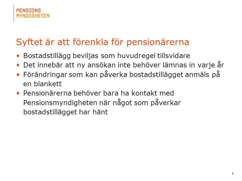 För att uppdatera sidfotstexten, gå till menyn: Visa/Sidhuvud och sidfot... Syftet är att förenkla för pensionärerna Bostadstillägg beviljas som huvud