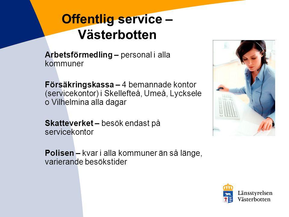 Postservice i Västerbotten Lantbrevbärare – får inte längre hjälpa människor att betala räkningar eller hämta ut kontanter Postservice övrigt - nerdragning av tjänster, uppsägning av postombud i butiker etc