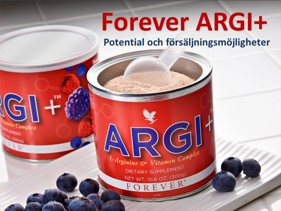 Forever ARGI+ Potential och försäljningsmöjligheter