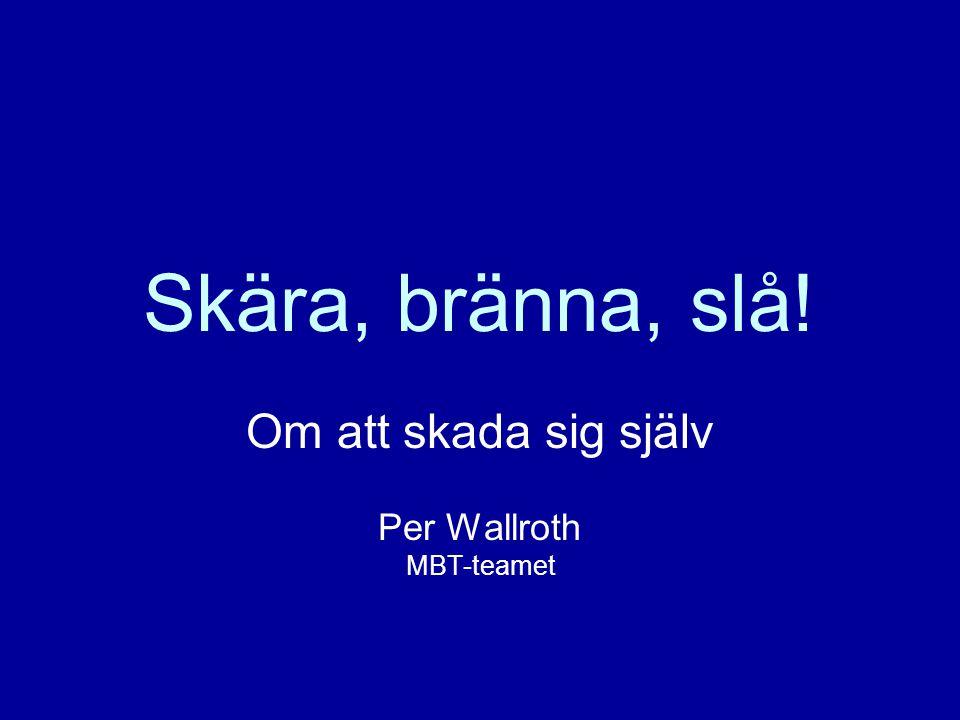 Per Wallroth22 OBSERVERA.