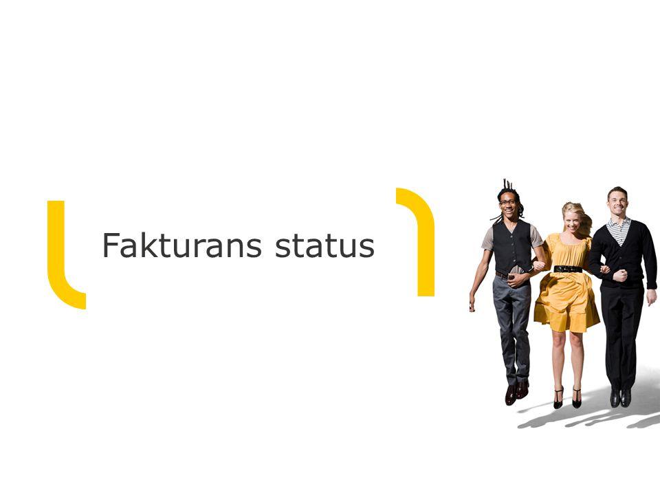 Fakturans status
