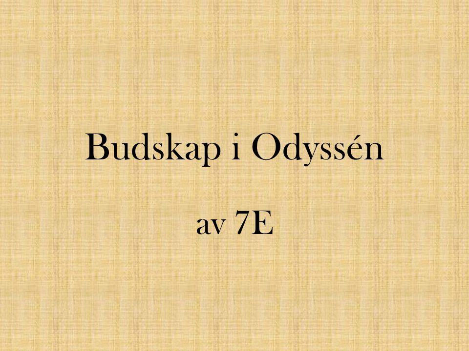 Budskap i Odyssén av 7E