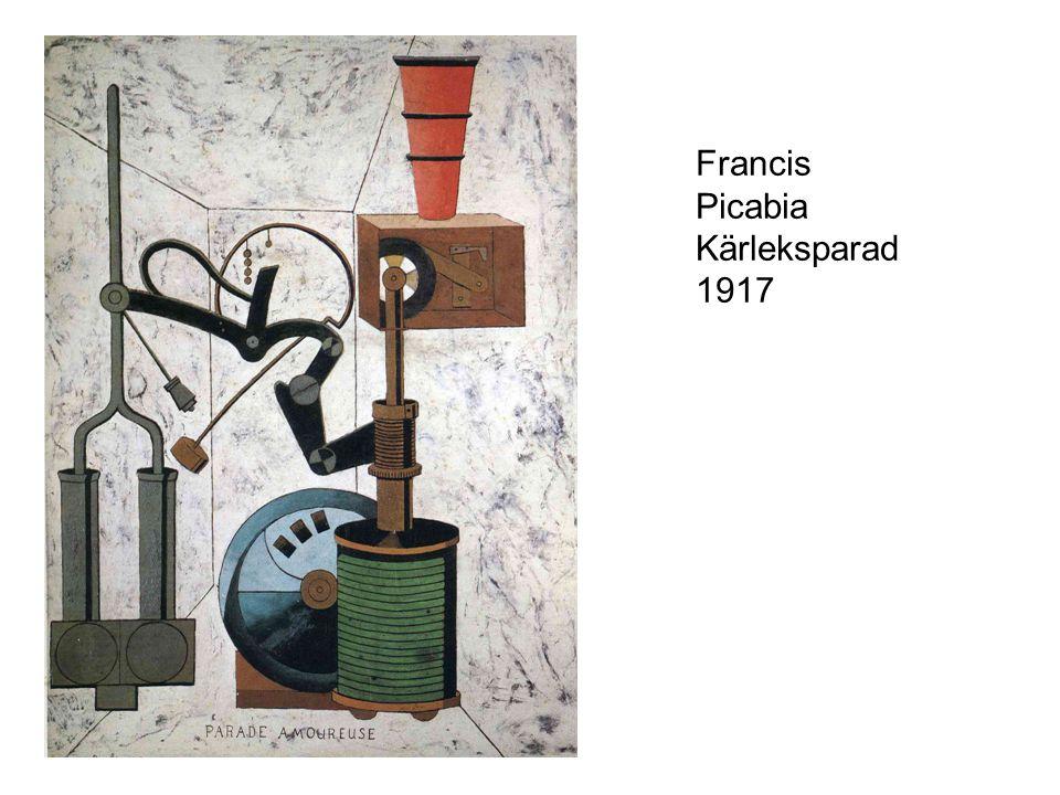 Francis Picabia Kärleksparad 1917