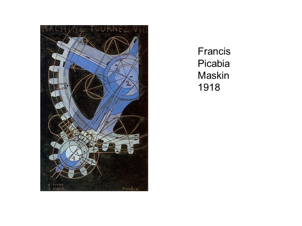 Francis Picabia Maskin 1918