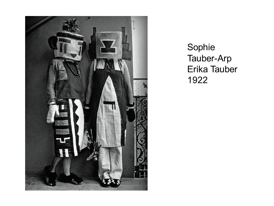 Sophie Tauber-Arp Erika Tauber 1922