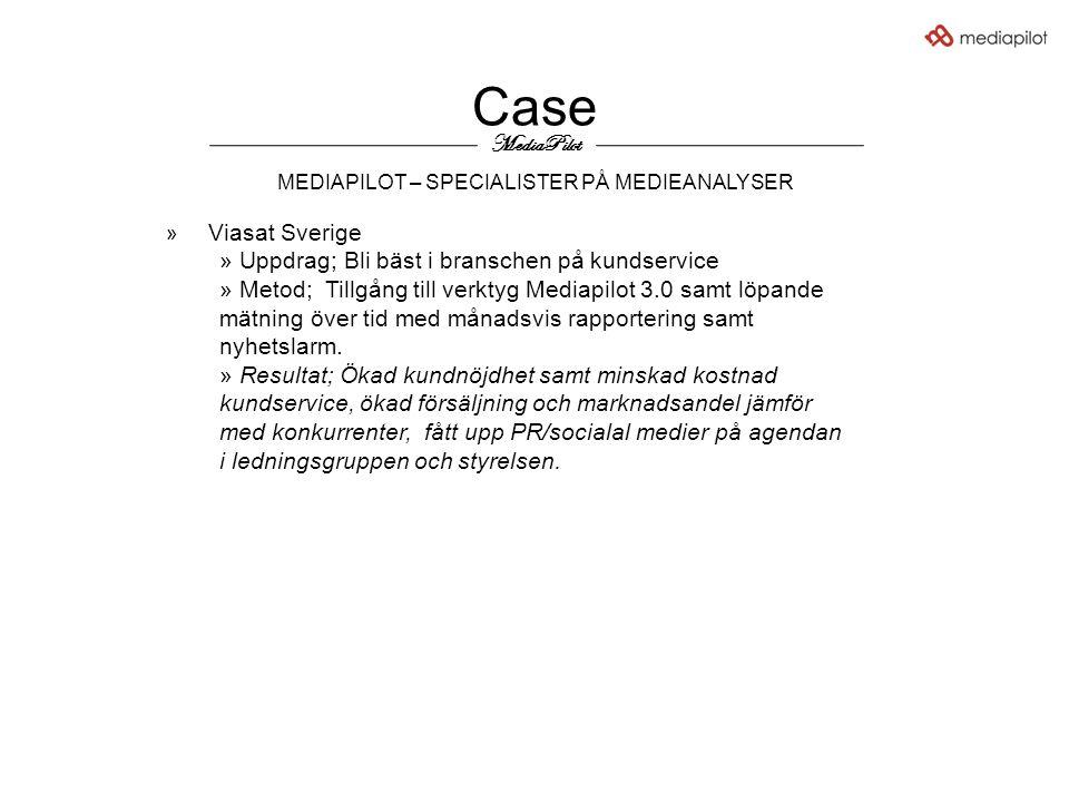 Case MEDIAPILOT – SPECIALISTER PÅ MEDIEANALYSER MediaPilot » Viasat Sverige » Uppdrag; Bli bäst i branschen på kundservice » Metod; Tillgång till verk